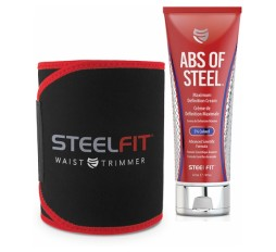 Slika proizvoda: Komplet: SteelFit Abs of Steel 237 ml + pojas SteelFit Waist Trimmer